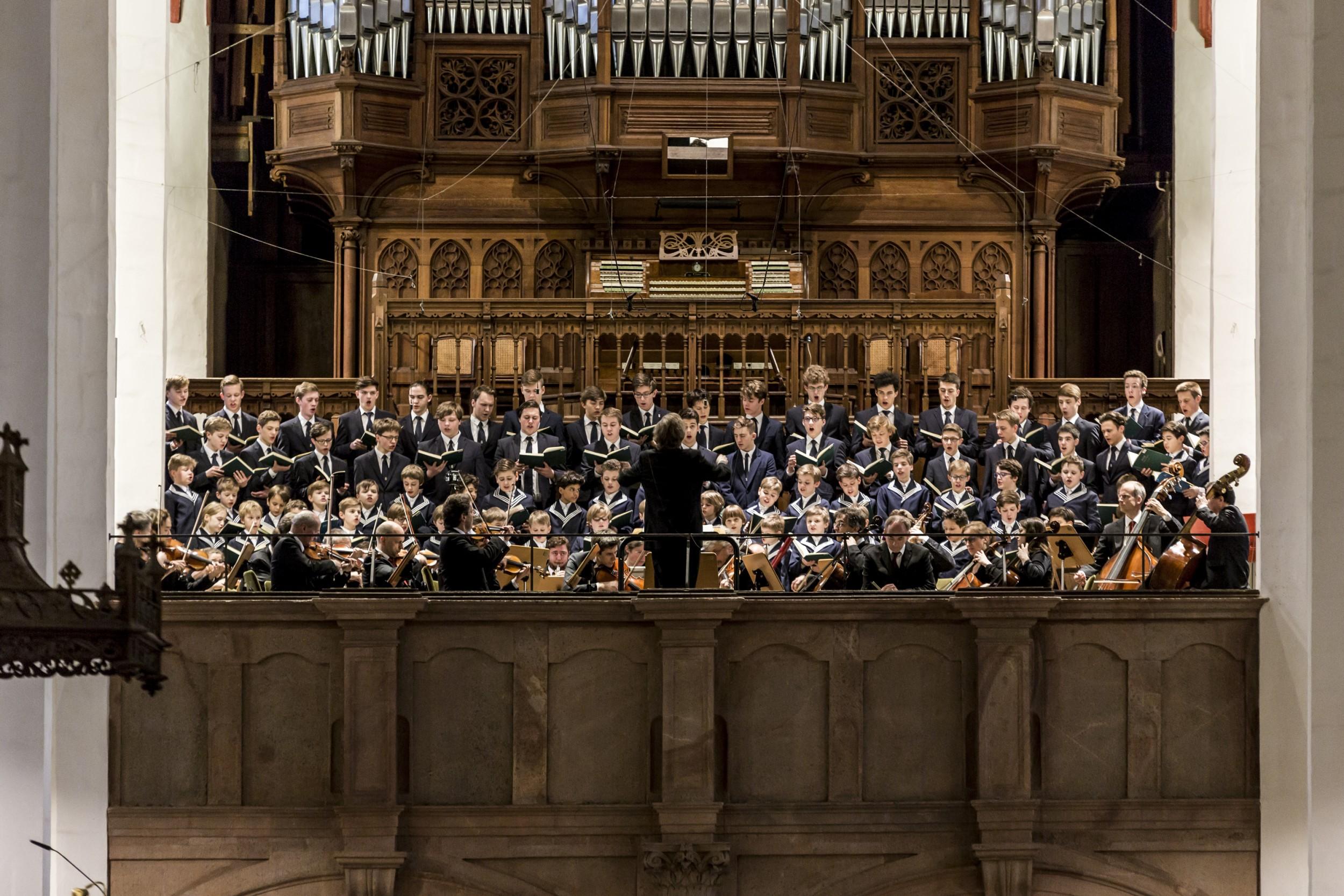 Foto: Aufführung der Johannes-Passion 2017